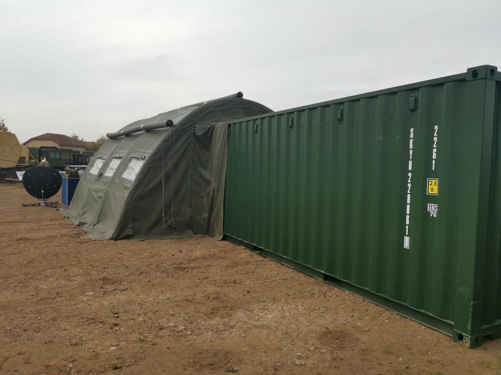 NIXUS PRO Military Tents on Manoeuvres 2